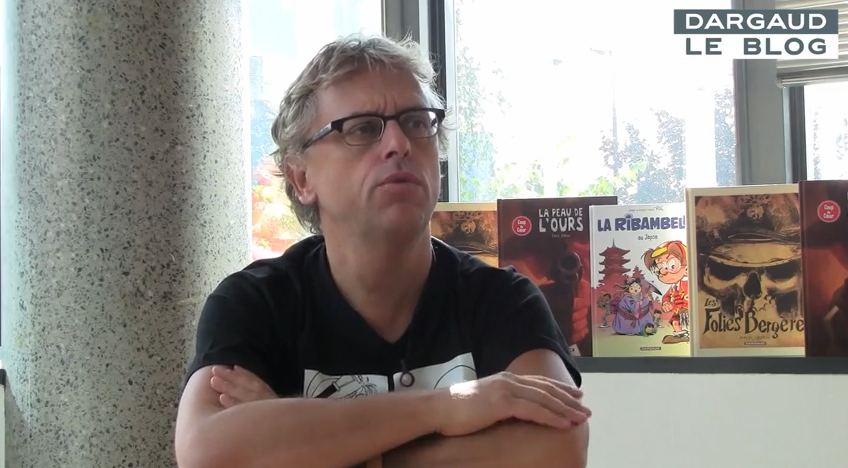Interview de Zidrou (2012)